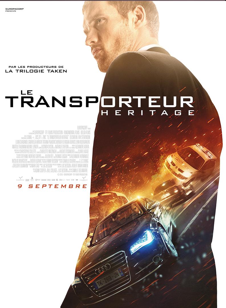 """affiche du film """"le transporteur héritage"""""""
