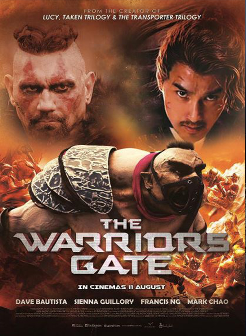 "affiche du film ""the warriors gate"""